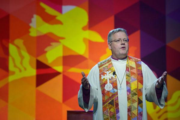 Gudstjeneste med brev fra biskopen